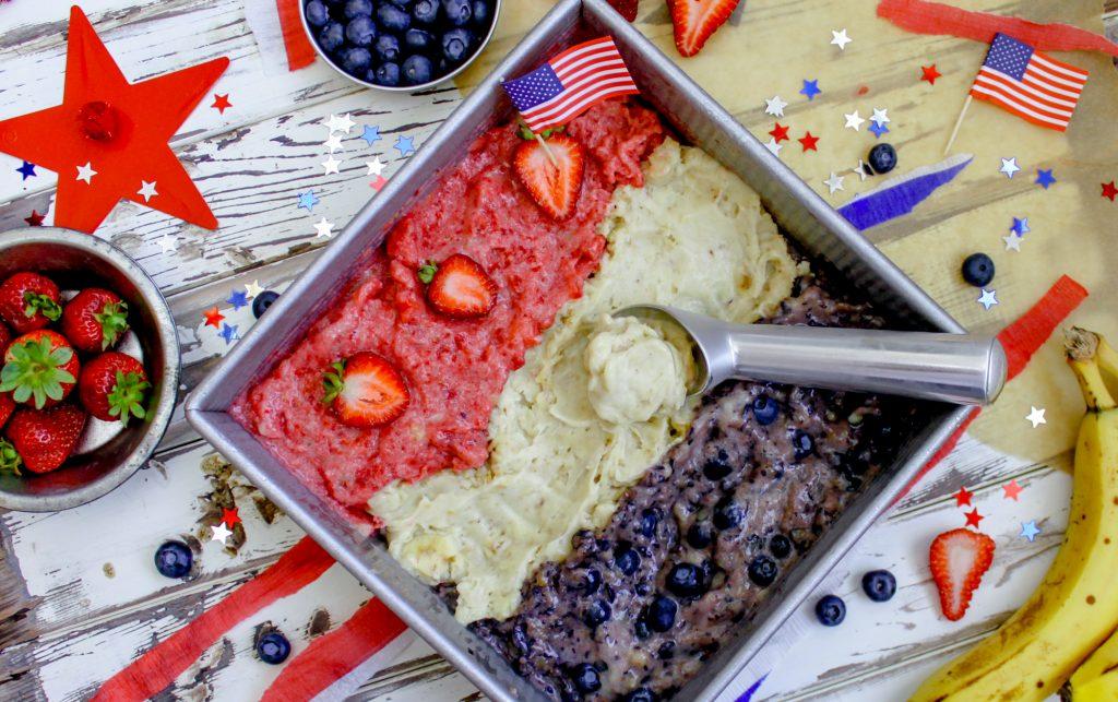 Vegan 4th of July Ice Cream 3