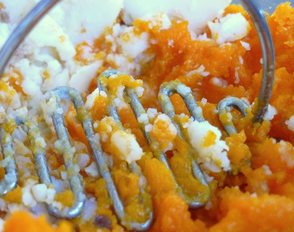 butternut squash russet mashed potatotes 1