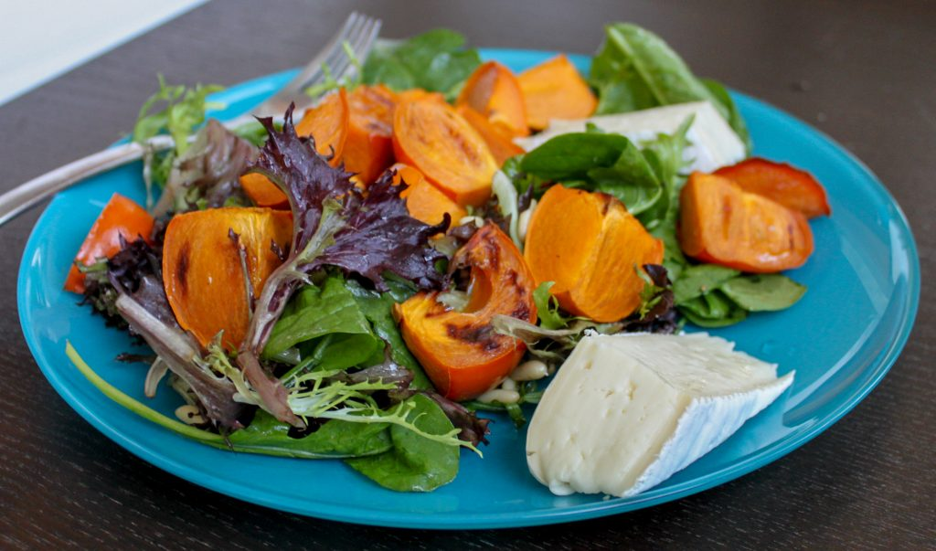 persimmon salad 1