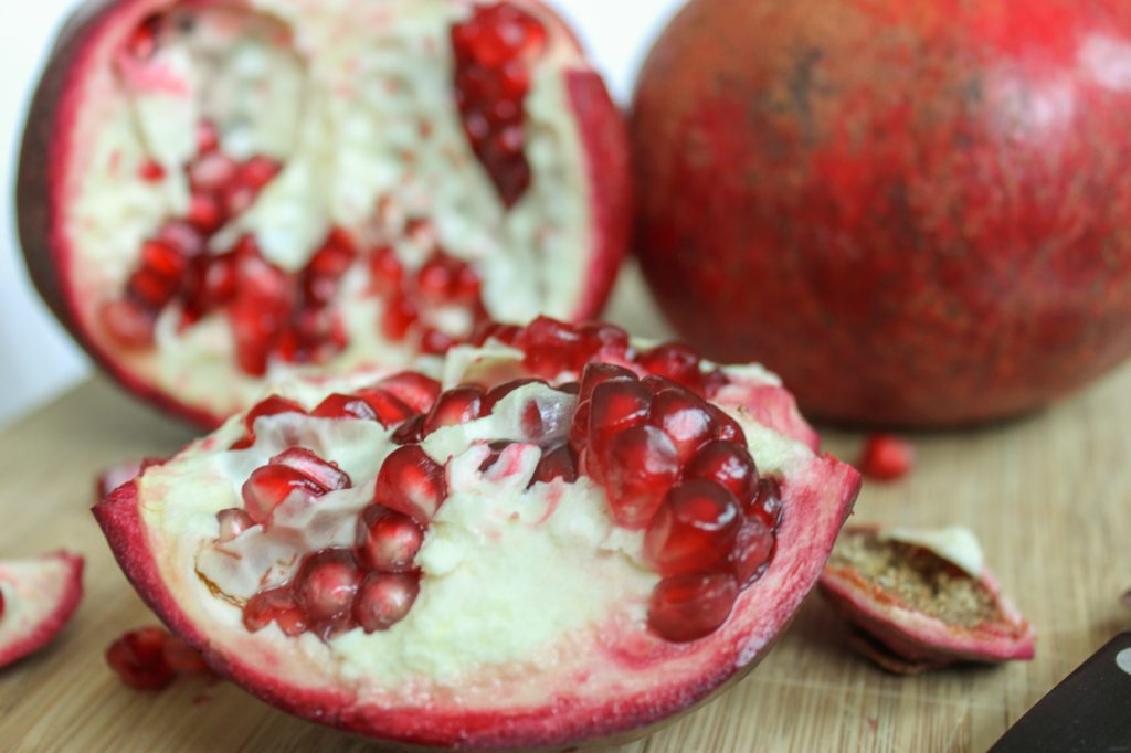sliced pomegranate 9