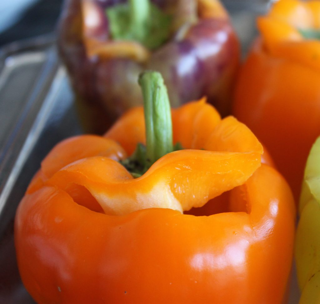 top cut bell pepper 1