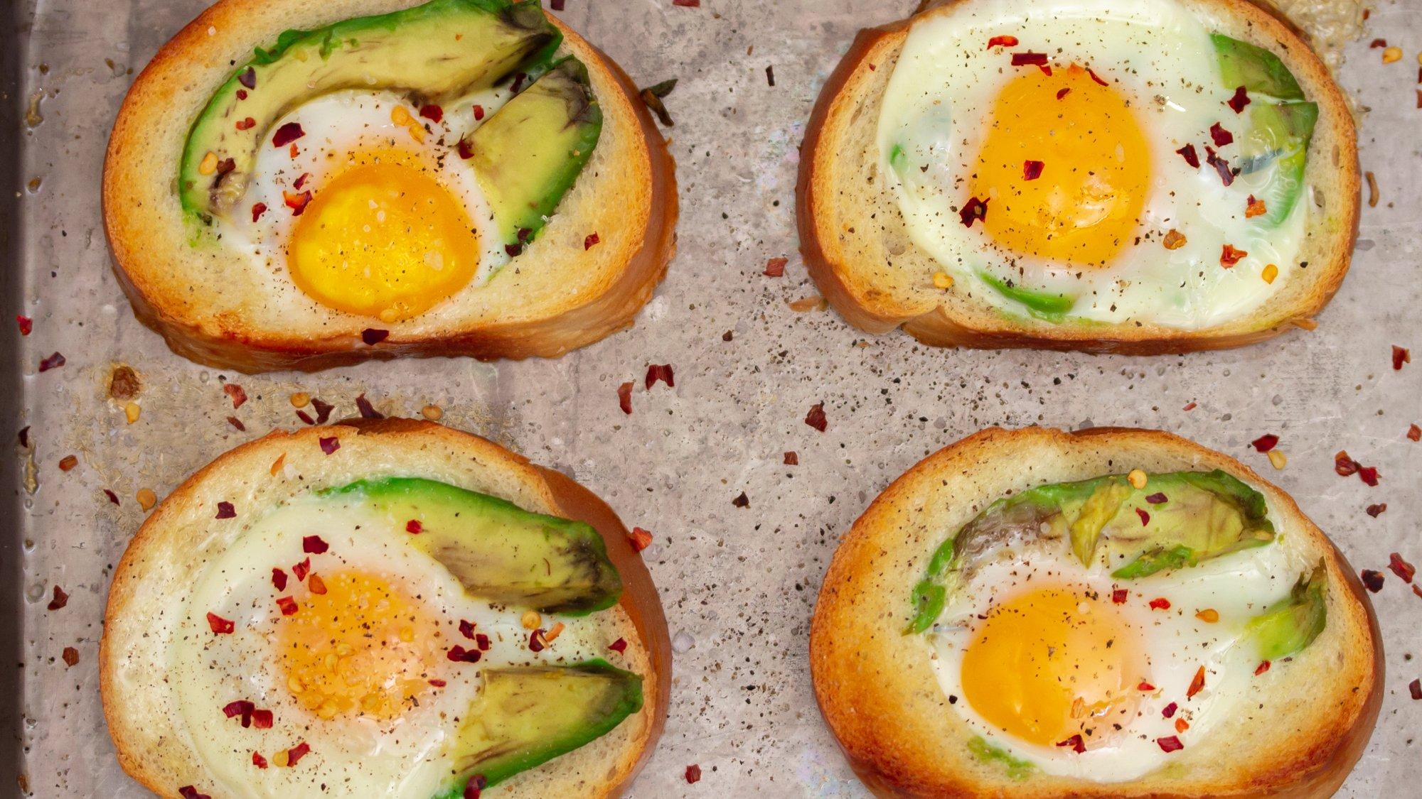 Baked Egg Avocado Toast Main