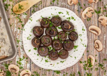 Easy Oven Roasted Mushrooms Main