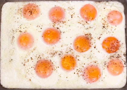 Easy Sheet Pan Fried Eggs Main