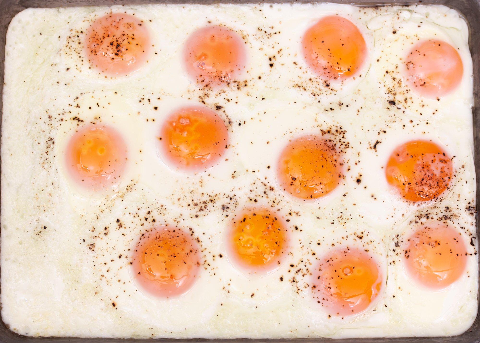 Easy Sheet Pan Fried Eggs Main