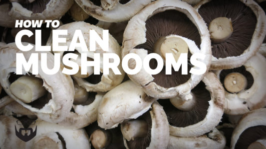 How to Clean Mushrooms video