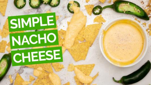 Simple Nacho Cheese Sauce video green