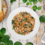 Spinach & Barley Risotto Main