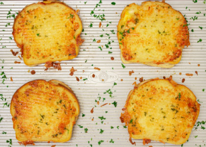 Sheet Pan Grilled Cheese Sandwich Main