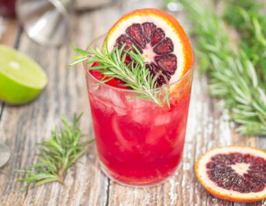 Blood Orange & Rosemary Margarita Main
