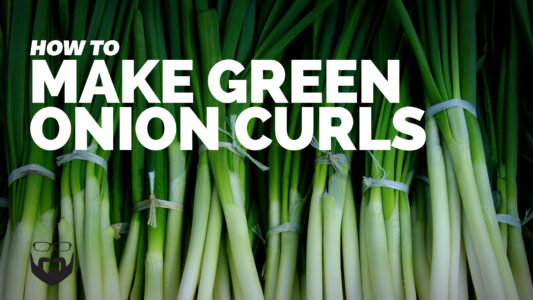 How to Make Green Onion Curls VIDEO