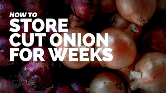 How to Store Cut Onion for Weeks VIDEO