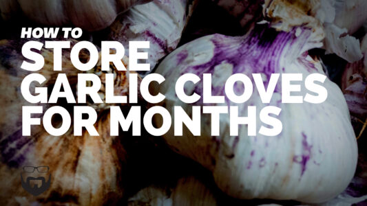 How to Store Garlic Cloves for Months VIDEO