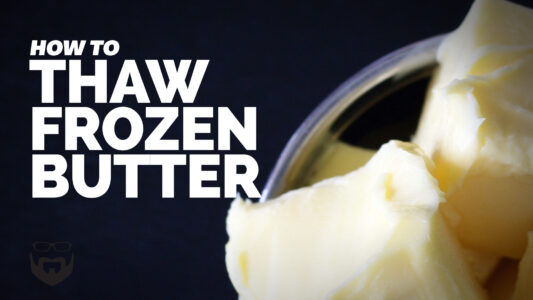 How to Thaw Frozen Butter VIDEO
