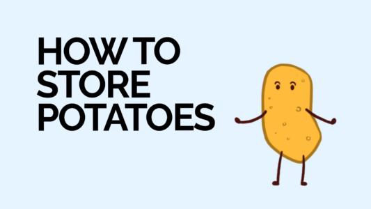 How to store potatoes - thumbnail