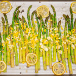 Roasted Asparagus with Hard Boiled Egg Main