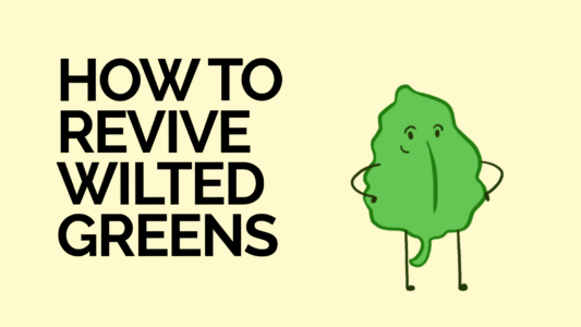 How to Revive Wilted Greens - thumbnail