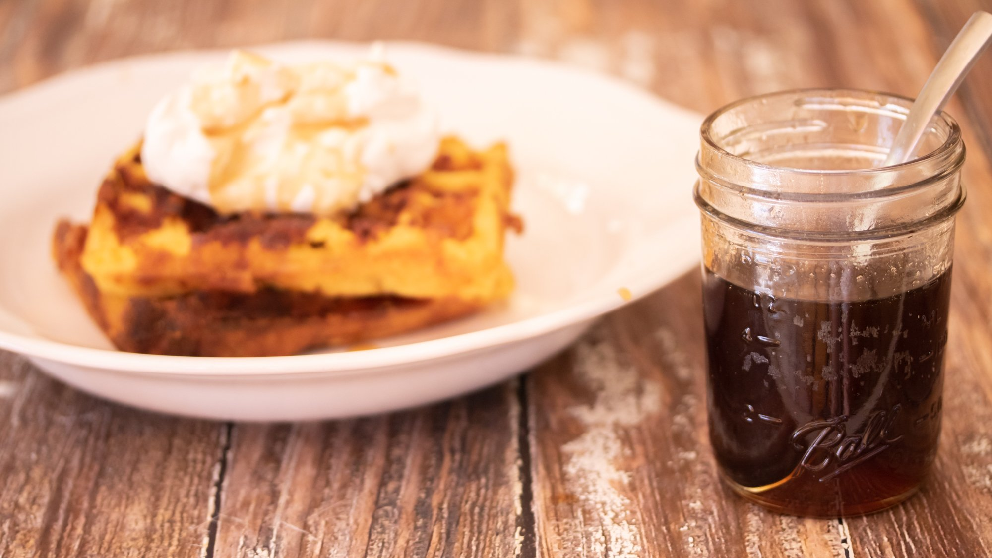 Buttered Bourbon Maple Syrup Video