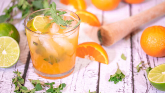 Clementine & Marjoram Paloma Cocktail YT