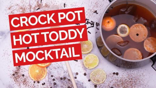 Crock Pot Hot Toddy Mocktail video red
