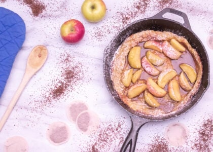 Double Caramel Apple Dutch Baby Main