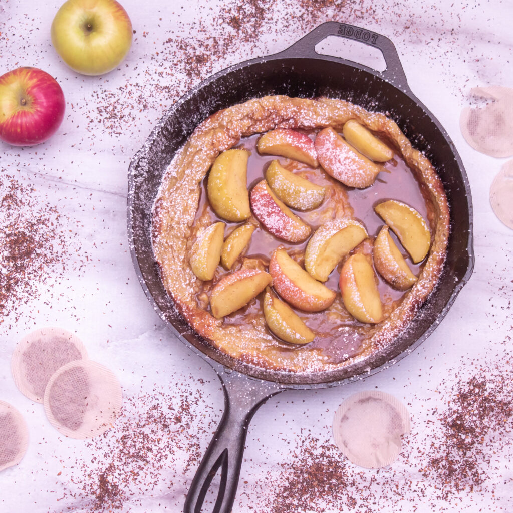 Double Caramel Apple Dutch Baby Recipe