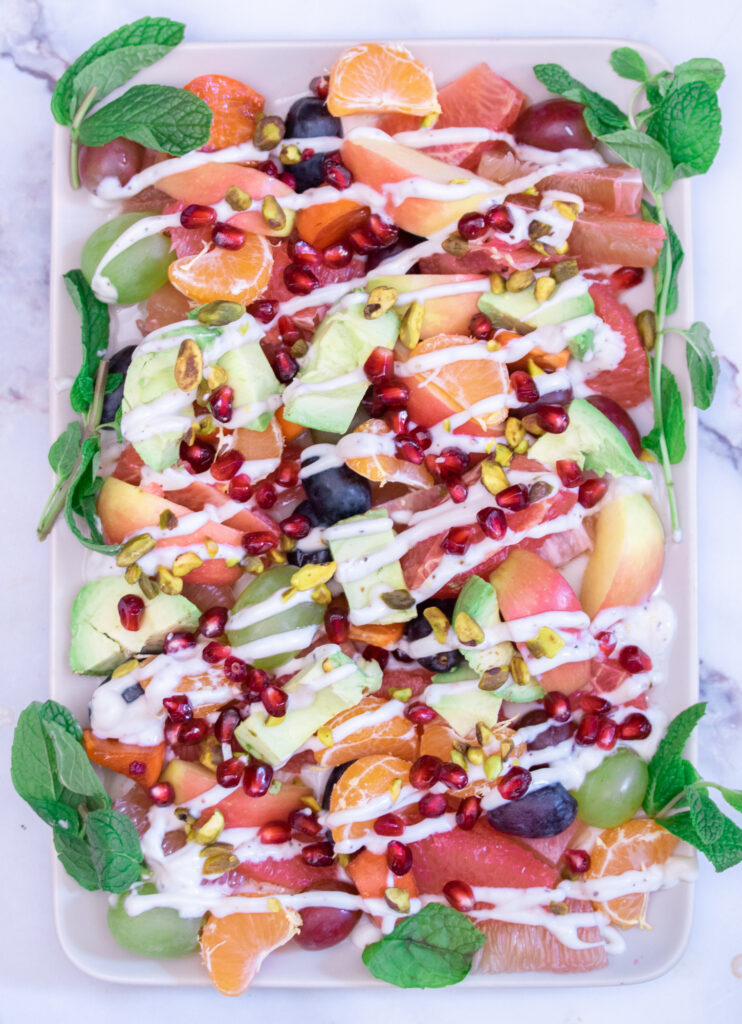 Winter Fruit Salad with Spiced Yogurt Final