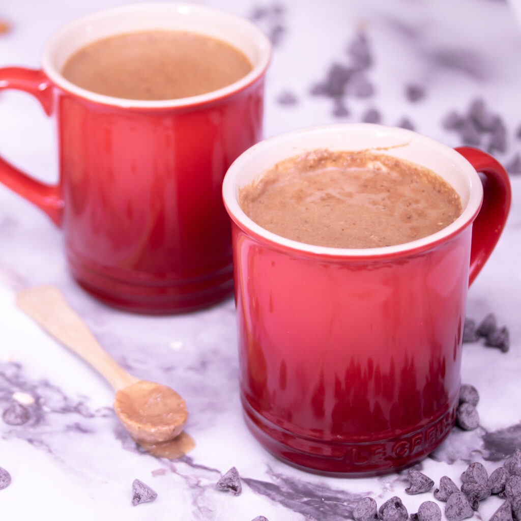 Hot Chocolate Smoothie with Oats Recipe