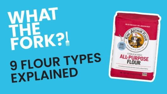 YouTube What the Fork - 9 Flour Types & How to Make Them