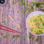Cold Cucumber Noodles with Sesame Dressing