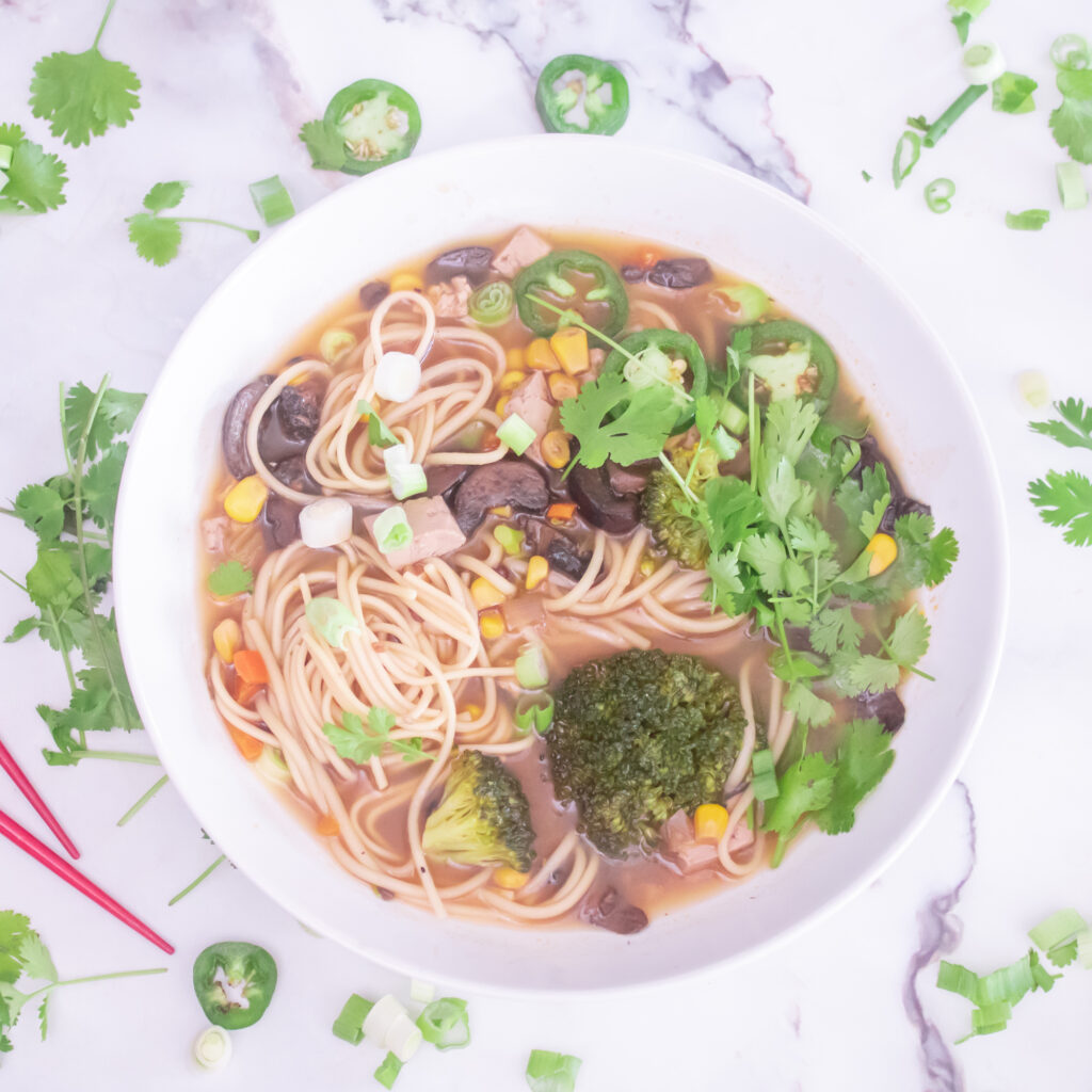 Easy Vegan Slow Cooker Ramen Recipe