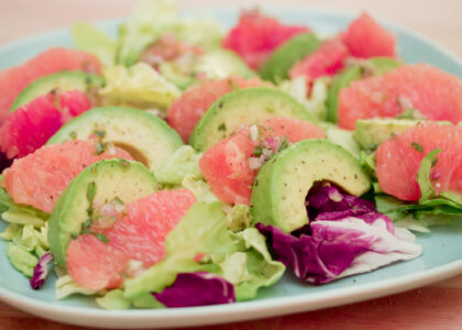 Grapefruit Avocado Fruit Salad Main
