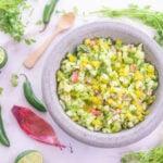 Spicy Cucumber & Radish Salsa