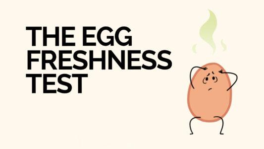 The Egg Freshness Test video
