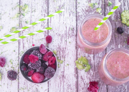 No Recipe Smoothie to Fight Food Waste