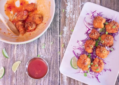 Baked Thai Cauliflower Wings Recipe