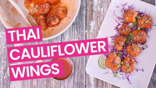 Baked Thai Cauliflower Wings Thumb