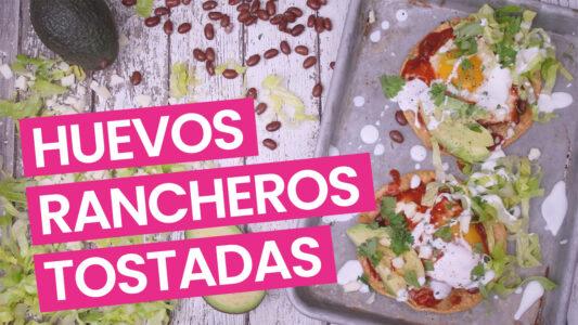 Huevos Rancheros Breakfast Tostada Video - Pink