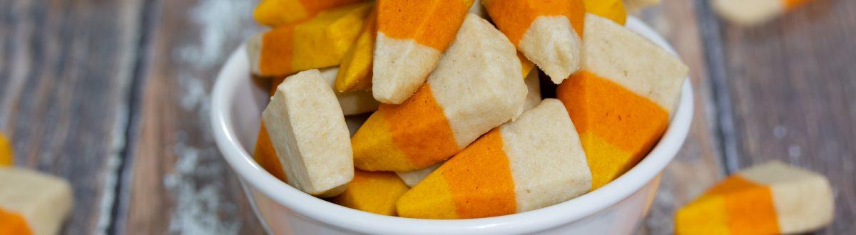 Candy Corn Sugar Cookies Halloween Recipe Main 1