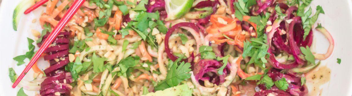 Chilled Thai Veggie Noodle Bowl 3