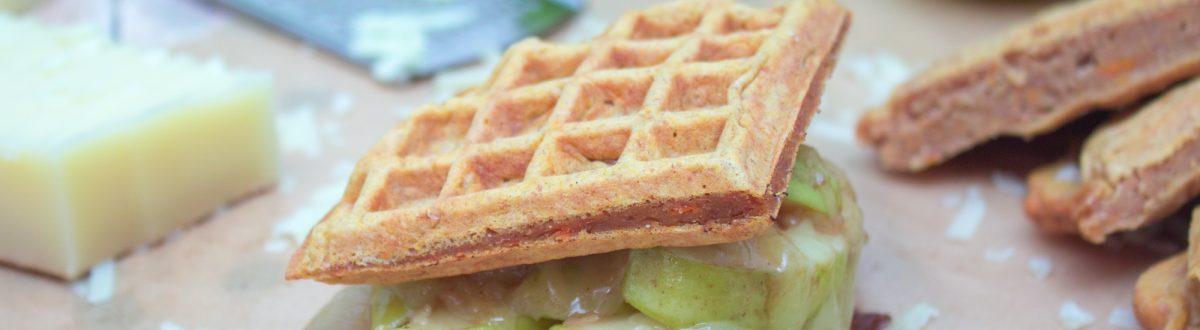 Gruyere Caramelized Apple Waffle Sandwich 2 1