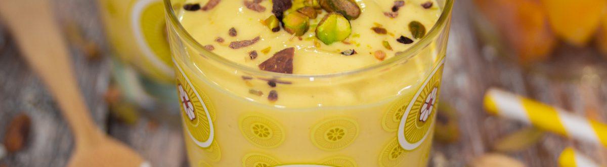 Mango Lassi Smoothie with Greek Yogurt Main