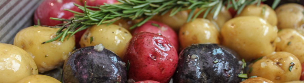 Potatoes Roasted with Garlic Rosemary 1