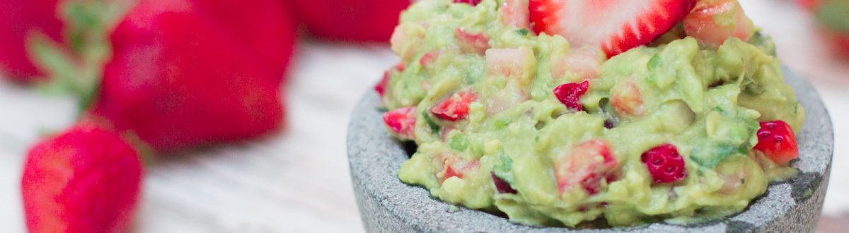 Strawberry Guacamole 4