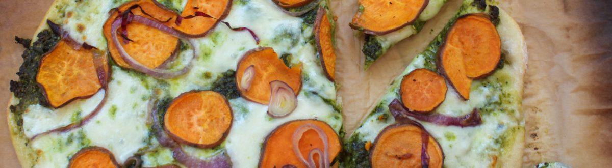 Sweet Potato Kale Pesto Pizza Main 3
